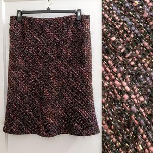 Jones New York | 14 tweed winter skirt flare plus